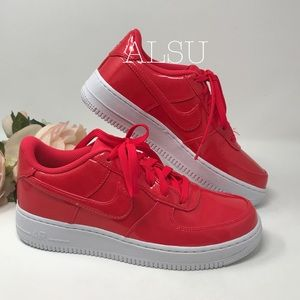 Nike Air Force 1 LV8 UV GS Siren Red k/W AUTHENTIC